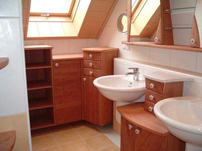 Bad mit 2 Waschbecken